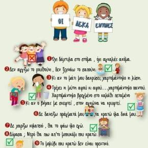 Οι «δέκα εντολές» για την προστασία των μαθητών κατά την επιστροφή τους στοσχολείο